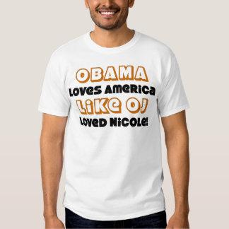 Like OJ Loved Nicole Tee Shirt