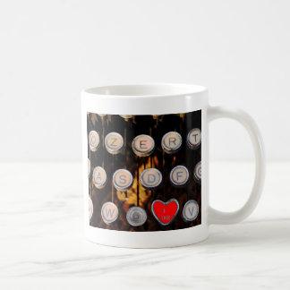 like on old typewriter coffee mug