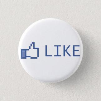 Like Pinback Button