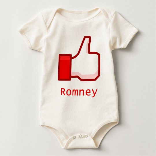 Like Romney Baby Bodysuit