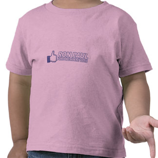 Like Ron Paul - 2012 election president vote Tee Shirt