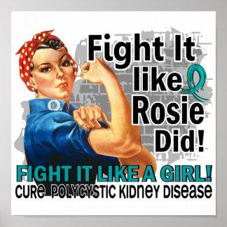 Like Rosie Did Cure PKD png Posters