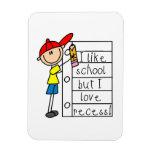 Like School Love Recess Flexible Magnet
