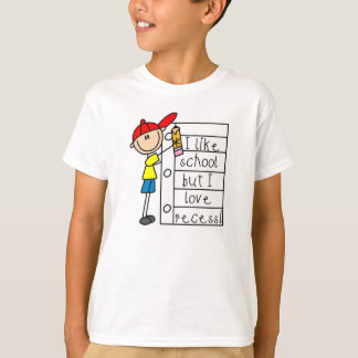 Like School Love Recess T-Shirt