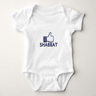 Like Shabbat Baby Bodysuit
