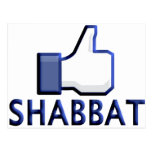 Like Shabbat Post Card