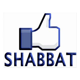 Like Shabbat Postcard
