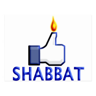 Like Shabbat Postcard