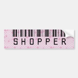 Like Shopping? Car Bumper Sticker