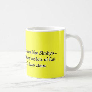 Like Slinkys Coffee Mug