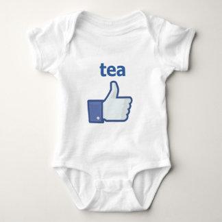 LIKE tea Baby Bodysuit