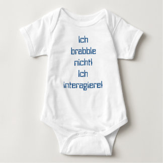 """like that is"" - Babybody Baby Bodysuit"