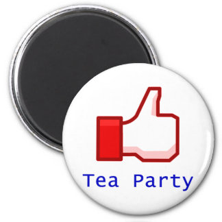Like the Tea Party 2 Inch Round Magnet