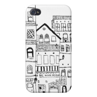 Like the town of somewhere No.3 iPhone 4 Case