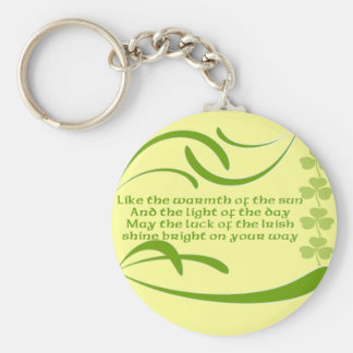Like the Warmth of the Sun -Irish Blessing Keychains