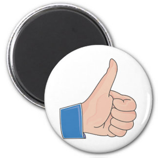Like this Like That Real Productive Life 2 Inch Round Magnet