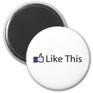 Like This! Fridge Magnet