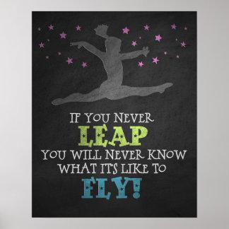 Like to Fly - Gymnastics Poster