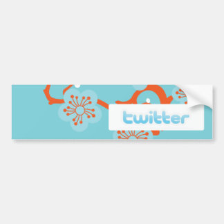 Like Twitter? Car Bumper Sticker