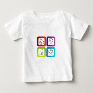 Like unlike symbols infant t-shirt