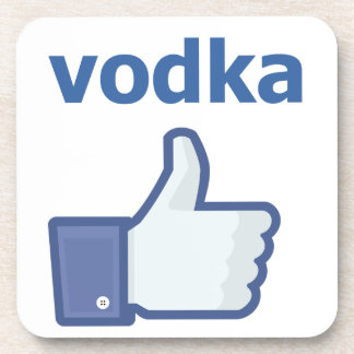LIKE vodka Drink Coaster