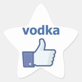 LIKE vodka Star Sticker