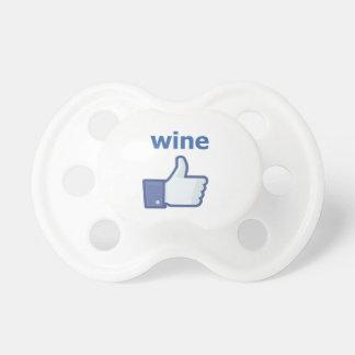 LIKE wine Pacifier