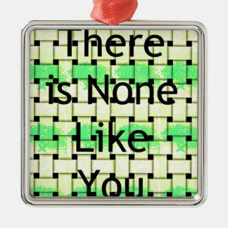 Like You.png Metal Ornament