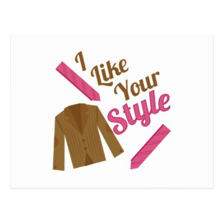 Like Your Style Postcard