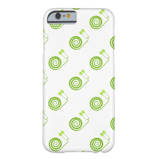 """Likeable snail of green, """"Expensive spiral of Cabb Barely There iPhone 6 Case"""