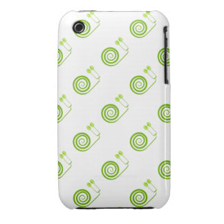 """Likeable snail of green, """"Expensive spiral of Cabb iPhone 3 Case-Mate Case"""