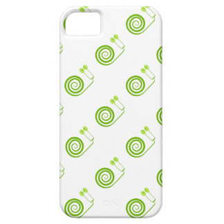 """Likeable snail of green, """"Expensive spiral of Cabb iPhone SE/5/5s Case"""