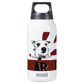 likeARealDog Logo Insulated Water Bottle