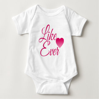LikeEver.png Baby Bodysuit