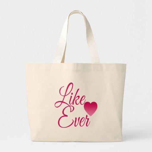 LikeEver.png Bolsa Tela Grande