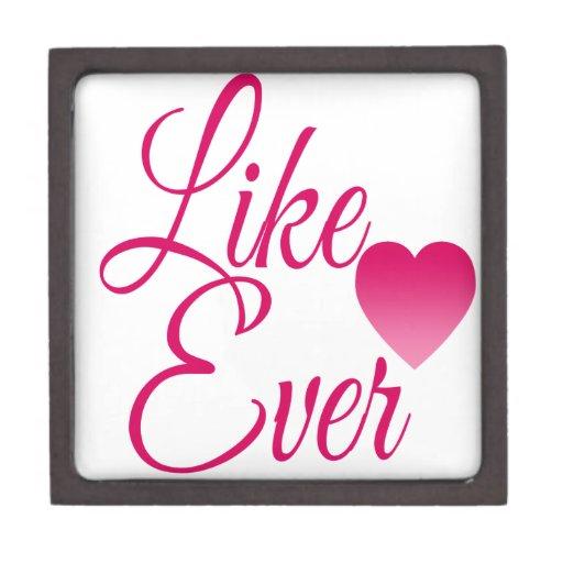 LikeEver.png Caja De Recuerdo De Calidad