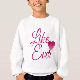 LikeEver.png Sweatshirt