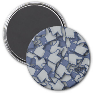 Likes 3 Inch Round Magnet