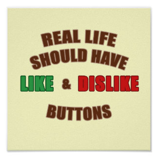 Likes and Dislikes Poster