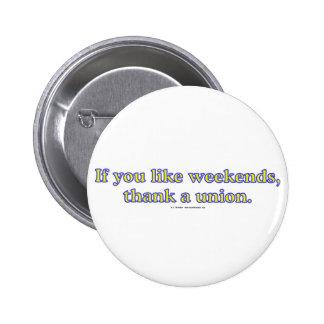 LikeWeekends Pinback Buttons