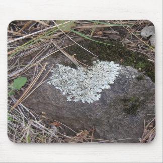 Likin' those Lichen Hearts (1) Mousepad