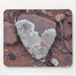 Likin' those Lichen Hearts (2) Mousepad