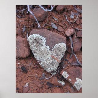 Likin' those Lichen Hearts (2) Poster