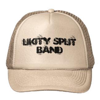 LiKiTy SpLiT Band Trucker Hats
