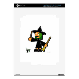 Likl' Witch Decals For iPad 3