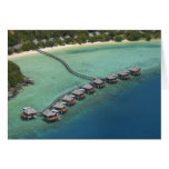 Likuliku Lagoon Resort, Malolo Island, Fiji Greeting Card