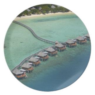 Likuliku Lagoon Resort, Malolo Island, Fiji Melamine Plate