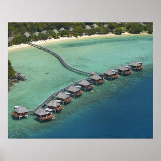 Likuliku Lagoon Resort, Malolo Island, Fiji Poster