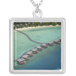 Likuliku Lagoon Resort, Malolo Island, Fiji Silver Plated Necklace