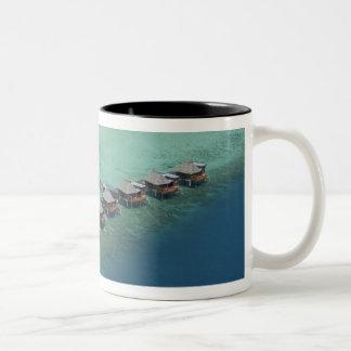 Likuliku Lagoon Resort, Malolo Island, Fiji Two-Tone Coffee Mug
